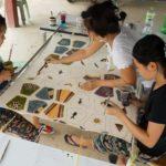 Batik Face Mask Production Teamwork