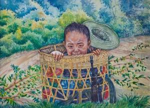 "Soe Moe Min, ""Growing Up Under the Military"", 2015."