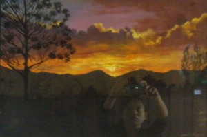 """Win Htet, """"The Beauty of Sunset and Forest"""", 2016."""