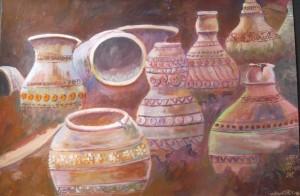 "Win Htet, ""Ancient Claypot"", 2016."